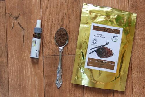 банановый смузи с ванилью и пряностями - ингредиенты