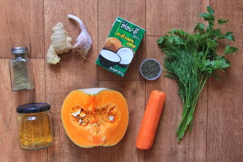 Тыквенный крем-суп со специями  - ингредиенты