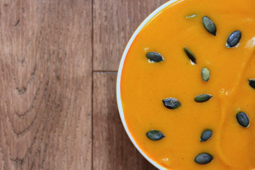 Тыквенный крем-суп со специями