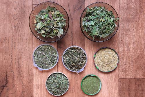 Полезный травяной сбор