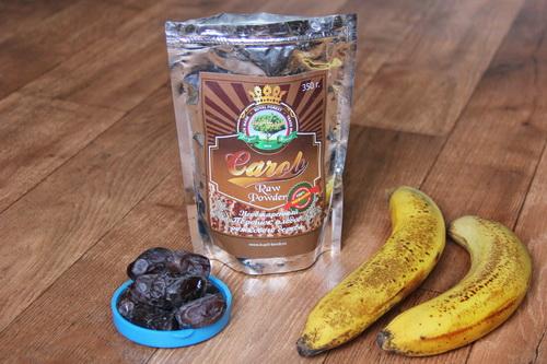 смузи из банана и финика - ингредиенты
