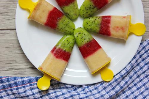 фруктовое веганское мороженое