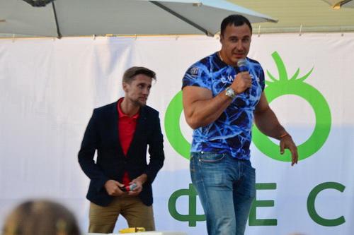 веганский фестиваль Go Vegan - Алексей Воевода